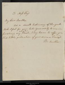 Juvenilia Volume I In Janes Handwriting Dedicated To Martha Lloyd