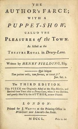 18th century mla boston scriblerians cooking comedy for Farcical writings