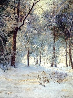 b Walter Launt Palmer1854-1932) Sunshine and Snowstorblog