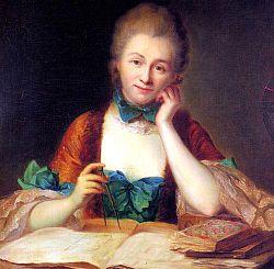 Inconnu,_portrait_de_madame_Du_Châtelet_à_sa_table_de_travail,_détail_(château_de_Breteu.jpgil)_-002