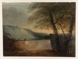 Carnarvon 1800 by John Sell Cotman 1782-1842