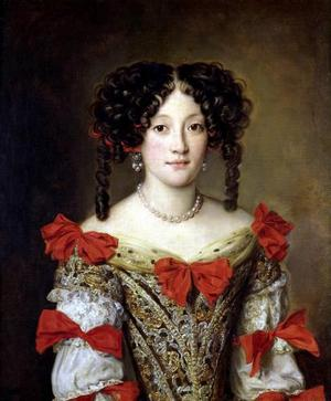 portrait-of-a-woman-by-jacob-ferdinand-voet marie manciniblog