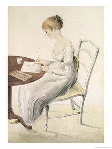 fanny-knight-letter-writing
