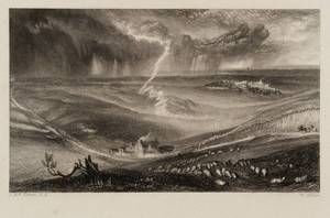 Field of Waterloo 1834-6 by Joseph Mallord William Turner 1775-1851