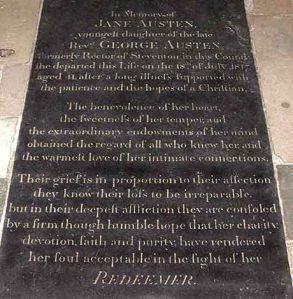 Jane-Austen-tomb