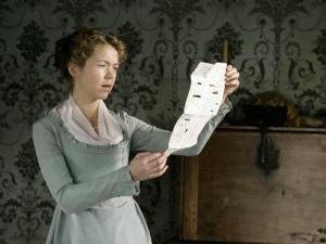 Cass reading Jane's letter