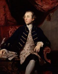 NPG 4445,Warren Hastings,by Sir Joshua Reynolds