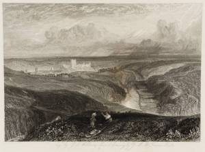 Richmond, Yorkshire (from the Moors) 1828 by Joseph Mallord William Turner 1775-1851