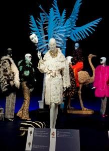 Norton Museum Iris Apfel on display fashion show photo/C.J. Walker