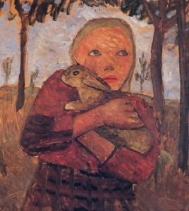 Girl-with-rabbit-1905