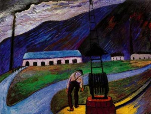 Red City - Marianne von Werefkin 1860-1938 - Russian-Swiss Expressionist painter- Tutt'Art@ (18)