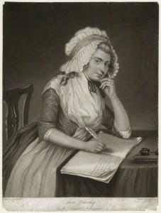 by Joseph Grozer, after  Sarah Shiells, mezzotint, published 1787