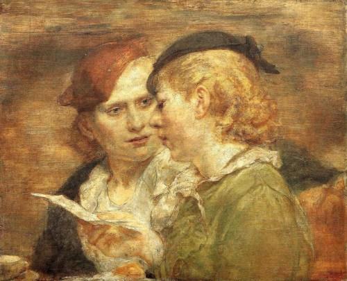Bishop, Isabel (1902-1988)readingandart