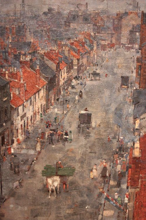 Muslin_Street,_Bridgeton,_Glasgow_by_John_Quinton_Pringle