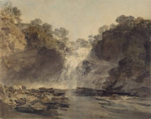 The Falls of Clyde 1801 Joseph Mallord William Turner 1775-1851 The National Gallery of Scotland http://www.tate.org.uk/art/work/TW0162