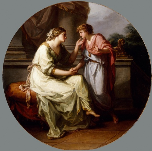 Papirius_Praetextatus_Entreated_by_his_Mother_to_Disclose_the_Secrets_of_the_Deliberations_of_the_Roman_Senate_by_Angelica_Kauffman