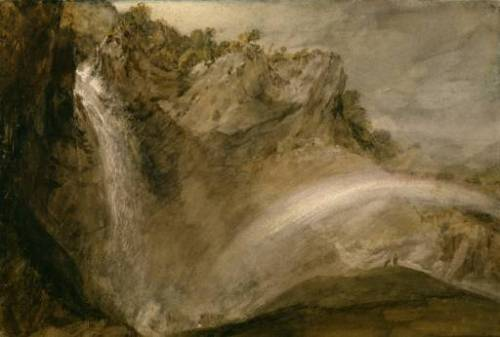 The Upper Falls of the Reichenbach 1802 Joseph Mallord William Turner 1775-1851 Courtauld Institute Gallery, London http://www.tate.org.uk/art/work/TW0491