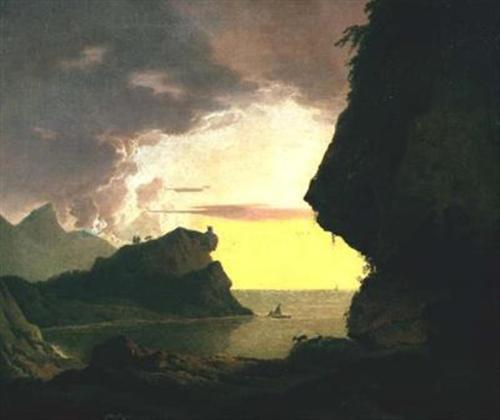 sunset_on_the_coast_near_naples-JWrightofDerby (Large)