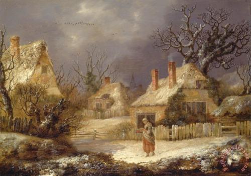 a_winter_landscapegeorgesmith