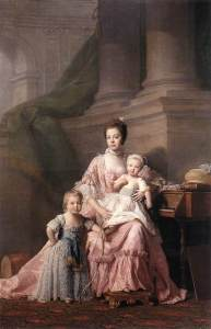 allan_ramsay_artist_-_queen_charlotte_with_her_two_children