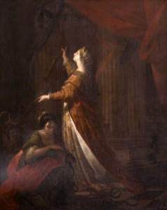 Kauffmann, Angelica; Penelope Taking Down the Bow of Ulysses; National Trust, Saltram; http://www.artuk.org/artworks/penelope-taking-down-the-bow-of-ulysses-101590