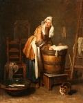Washerwoman-andcat-Jean-Siméon-Chardin-at-Toledo-Museum-of-Art